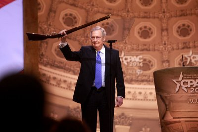 Senate majority leader Mitch McConnell NRA event.
