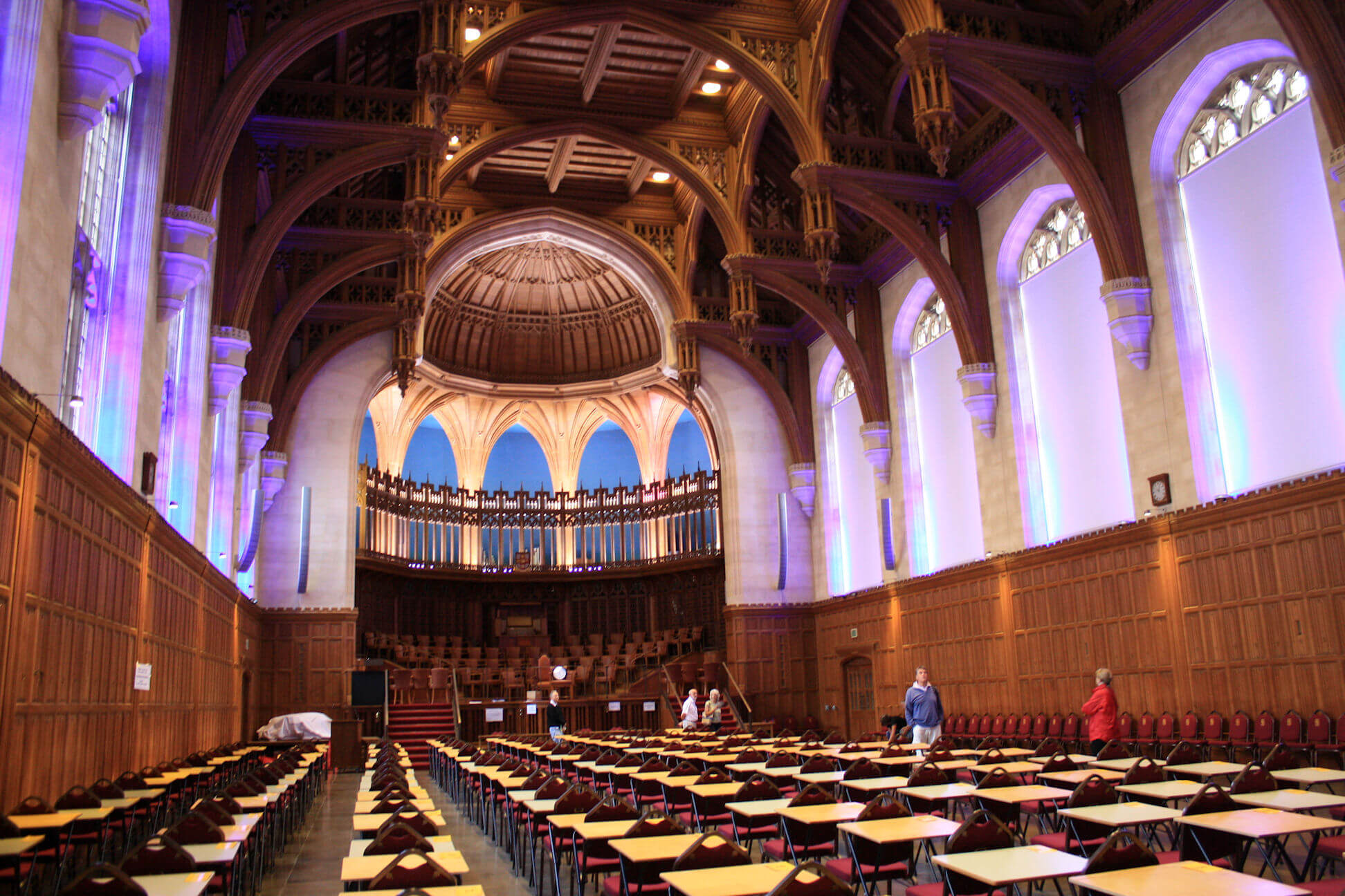 The Great Hall. A stunning space used for exams, events and lectures.